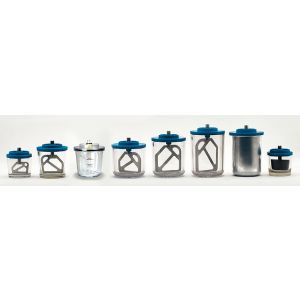 Rørskål 750 ml. til Iris Vacuummixer