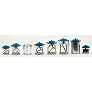 Rørskål 1.250 ml. til Iris Vacuummixer