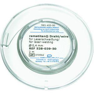 Rematitan tråd 0,4 mm rund