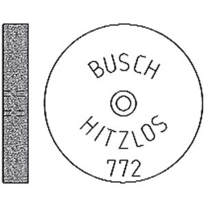 Busch Hitzlos 772 Ø 190 mm x 3 mm