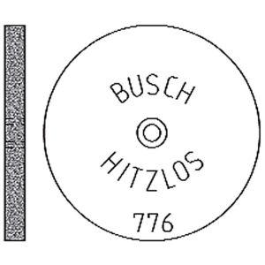 Busch Hitzlos 776 Ø 220 mm x 2 mm