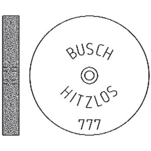 Busch Hitzlos 777 Ø 220 mm x 3 mm