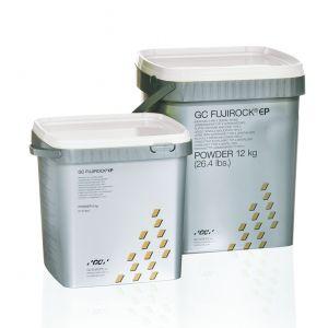 GC Fujirock EP gips, gyldenbrun 12 kg.