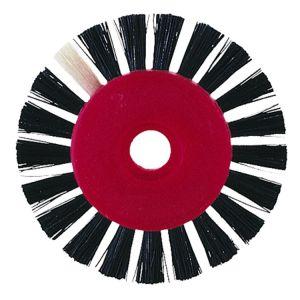 Sorte børster 1 rk. Ø 45 mm