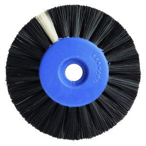 Sorte børster 2 rk. Ø 50 mm